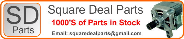 square deal parts logo